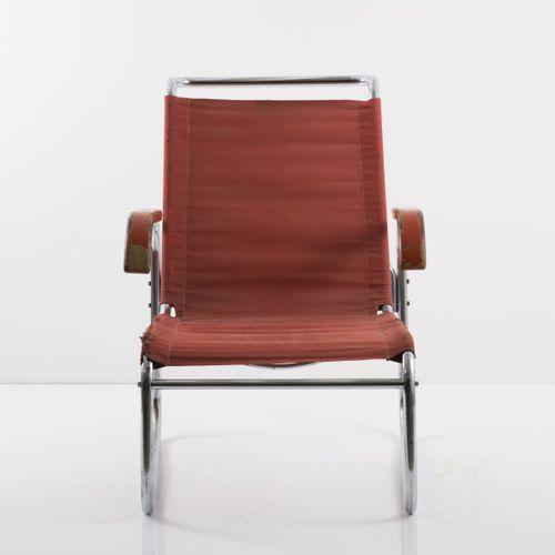 Marcel Breuer, fauteuil 'B 35', vers 1928/29, H. 83 x 58,5 x 80 cm ; tube D. 2,0…