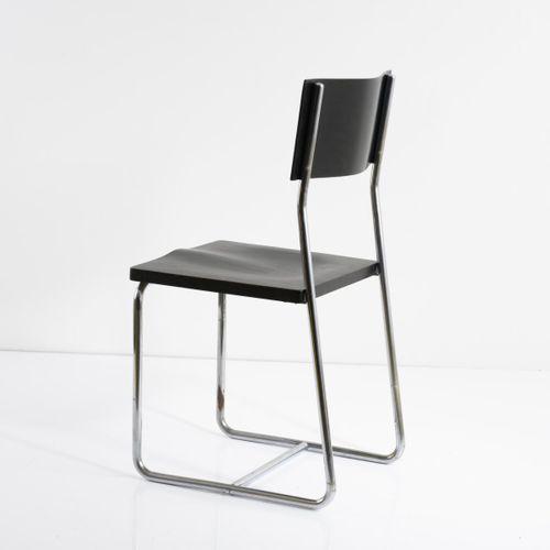 Marcel Breuer, chaise 'B 6' (variation), 1925/26, H. 87 x 45 x 44,5 cm. Fabriqué…