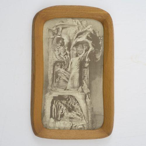 Rudolf Steiner (entourage), Cadre photo anthroposophique, 1930 50, 67,5 x 41,7 c…