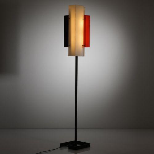 Jean Boris Lacroix, lampadaire '315', c. 1955, H. 162 x 25 x 25 cm. Fabriqué par…