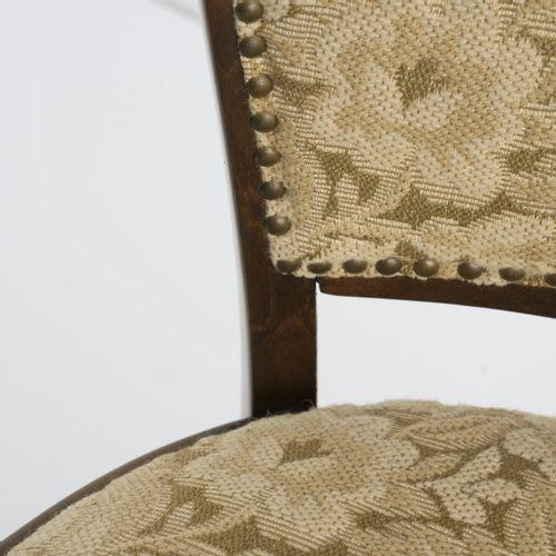 Gustav Siegel, fauteuil '715F', vers 1899, H. 77 x 53,5 x 52 cm. Fabriqué par J.…