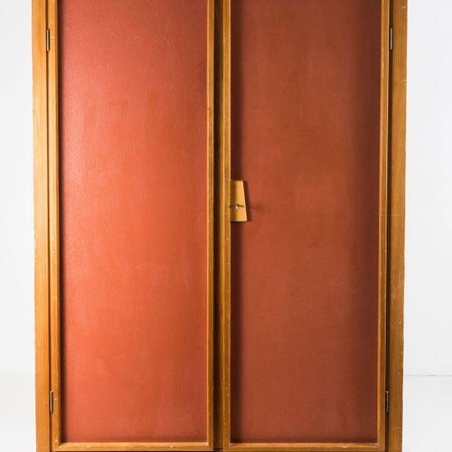 "Willy Guhl (attr.), armoire ""Nomad"", vers 1950, H. 164 x 115 x 47 cm. Fabriqué p…"