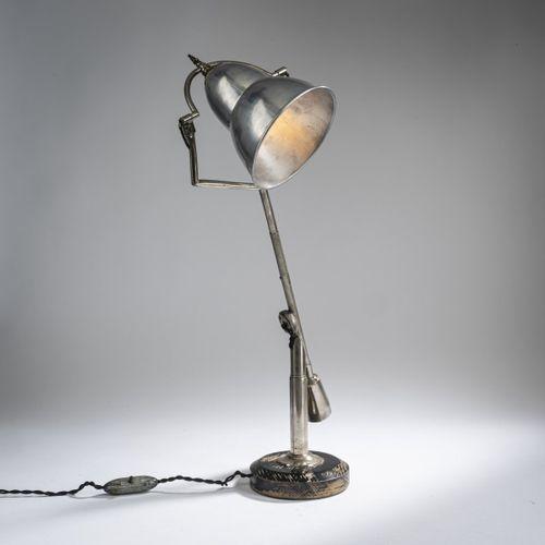 Edouard Wilfrid Buquet, lampe de table 'Buquet', 1927, H. 52,5 cm, P. 16,5 cm. B…