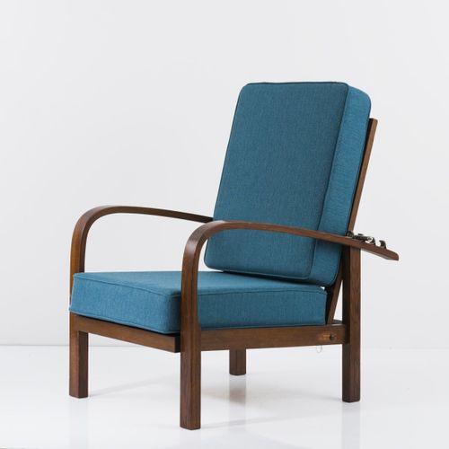Jiri Vanek, 2 fauteuils, années 1930, H. 91 100 x 68,5 x 87 99,5 cm. Fabriqués p…