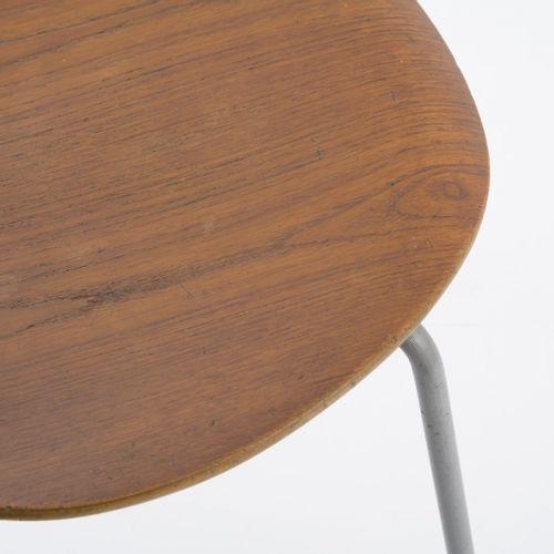 Arne Jacobsen, chaise 'Munkegard' '3105', 1952, H. 77,5 x 53 x 50 cm. Fabriquée …