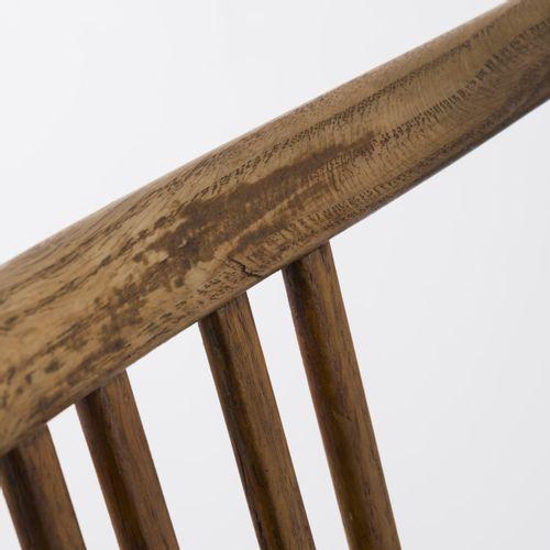 Hans J. Wegner, 2 chaises, c. 1942, H. 83 x 50 x 54,5 cm. Fabriquées par Mikael …