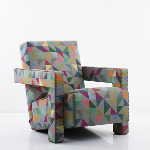Gerrit Rietveld ; Bertjan Pot, 'Utrecht chair' 'C 90', 1936/37 / 2016, H. 70,5 x…