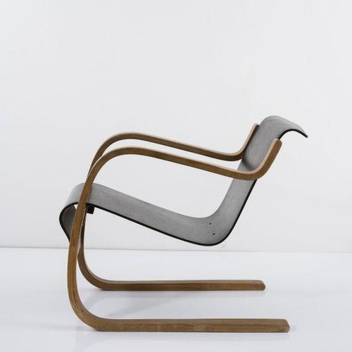 Alvar Aalto, Fauteuil '31 / 42' (variation) pour le Sanatorium de Paimio, 1932, …