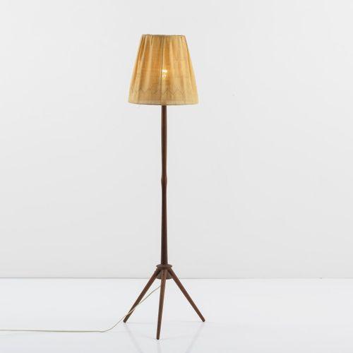 Uno Kristiansson ; Östen Kristiansson (attr.), Lampadaire, c.1955, H. 127 cm, D.…