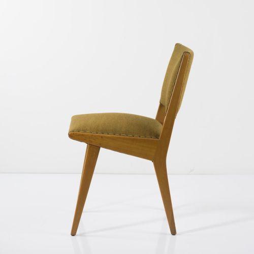 Jens Risom, chaise d'appoint '666 USP', 1941, H. 78,5 44 x 55 cm. Fabriqué par K…