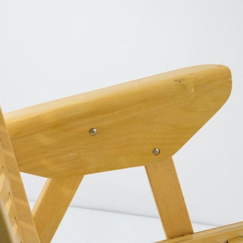 """Nico Kralj, 6 chaises pliantes """"Rex"""", vers 1950, H. 86 x 55 x 71 cm. Fabriquées …"""
