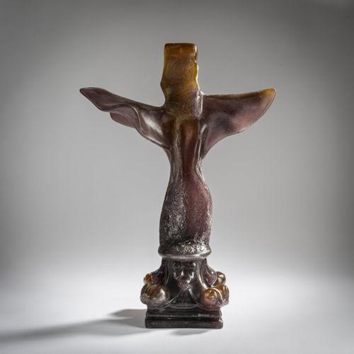 "Salvador Dalí (1904 Figueres 1989 ibid.), ""Croix de Leibnitz"", 1974, Pâte de cri…"
