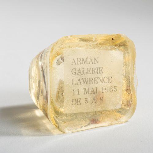Armand Fernandez (Arman) (1928 Nice 2005 New York City), Invitation à l'expositi…