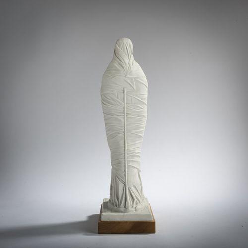 Edgar Augustin (1936 Recklinghausen 1996 Hambourg), 'Stehende Gewandfigur', 1981…