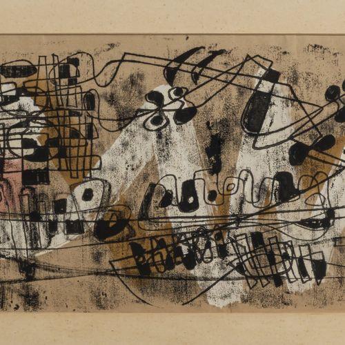 Herbert Kaufmann (1924 Aix la Chapelle 2011 Düsseldorf), Sans titre (composition…