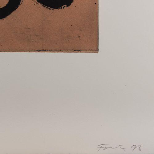 Günther Förg (1952 Füssen 2013 Freiburg i.B.), Sans titre (2 feuilles de gravure…