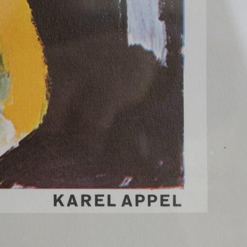 """Karel Appel (1921 Amsterdam 2006 Zurich), Affiche d'exposition : """" La deuxième e…"""