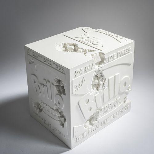 Daniel Arsham (1980 Cleveland, Ohio), 'Eroded Brillo Box', 2020, Multi casting i…