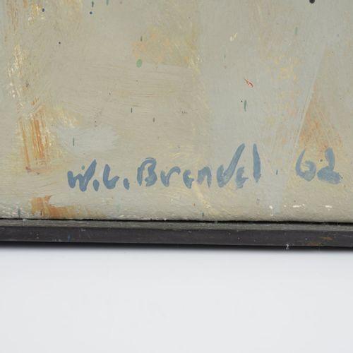 Walter Lothar Brendel (1923 Ludwigshafen 2013 Prien/Chiemsee), Sans titre (compo…