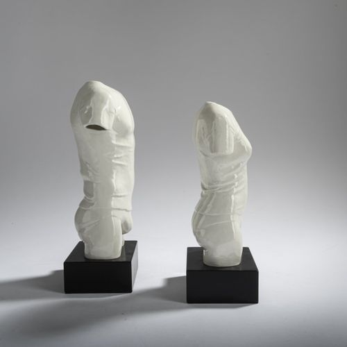 Peter Großbach (1934 Freudenstadt 1988 Cologne), 'T Shirt Torso weiblich' et 'T …