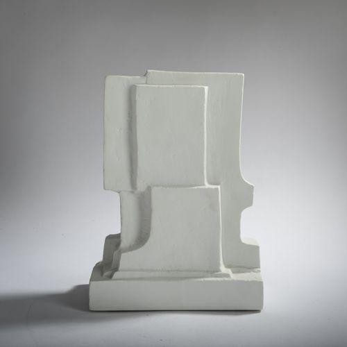 """Fritz Wotruba (1907 Vienne 1975 ibid.), """" Torse """", années 1960, Porcelaine. 31,8…"""