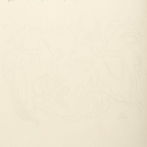 Marc Chagall ; Max Ernst ; Wassily Kandinsky ; Pablo Picasso, 7 feuilles d'estam…