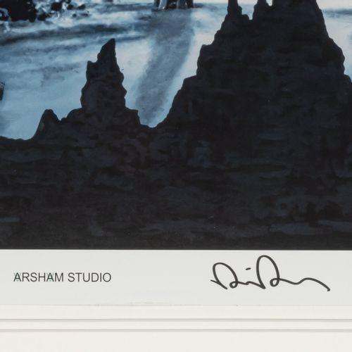 Daniel Arsham (1980 Cleveland, Ohio), 'Cave of the Sublime, Iceland', 2020, Lith…