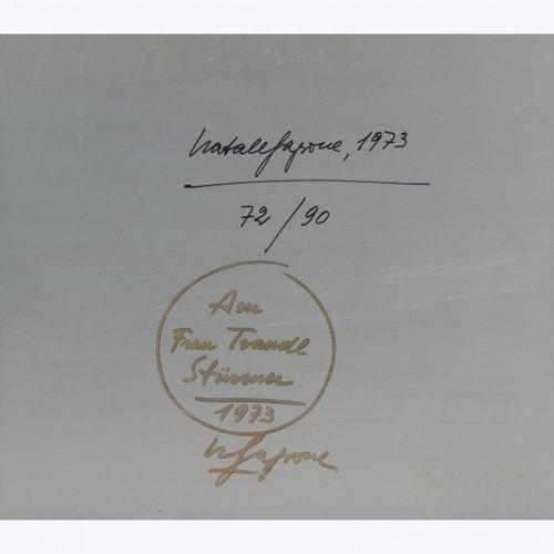 Natale Sapone (1920 Reggio Calabria 2002 Frauenfeld), Sans titre (composition ab…