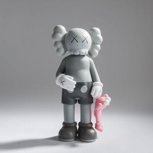KAWS (1974 New Jersey vit à New York), Compagnon 'Share' (gris), 2020, coloré, v…