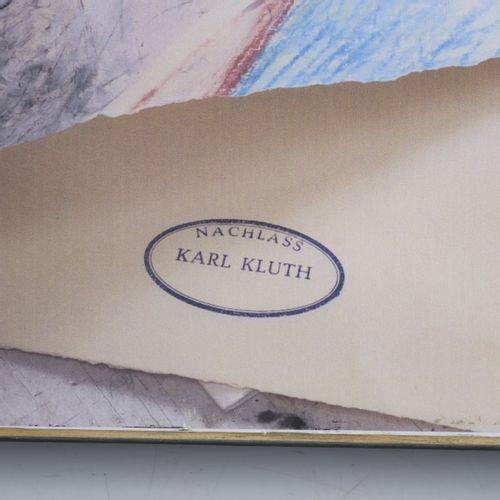 Karl Kluth (1898 Halle/Saale 1972 Hambourg), Sans titre (clown assis), milieu du…