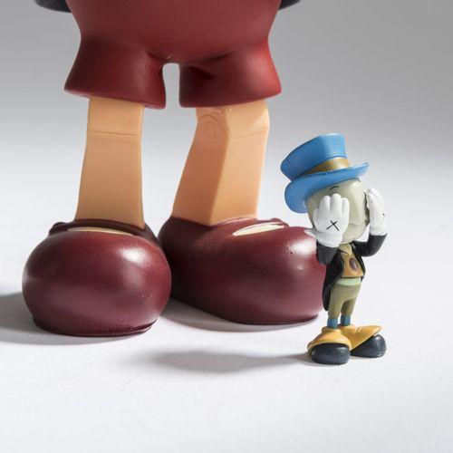KAWS (1974 New Jersey vit à New York), 'Pinocchio and Jiminy Cricket', 2010, col…
