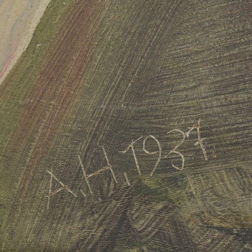 Adolf Hartmann (1900 Munich 1972 ibid.) (attr.), Sans titre (Blonder Junge), 193…
