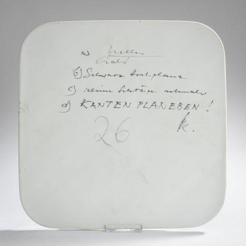 Günter Fruhtrunk (1923 Munich 1982 ibid.), Objet annuel en porcelaine, 1974, Por…