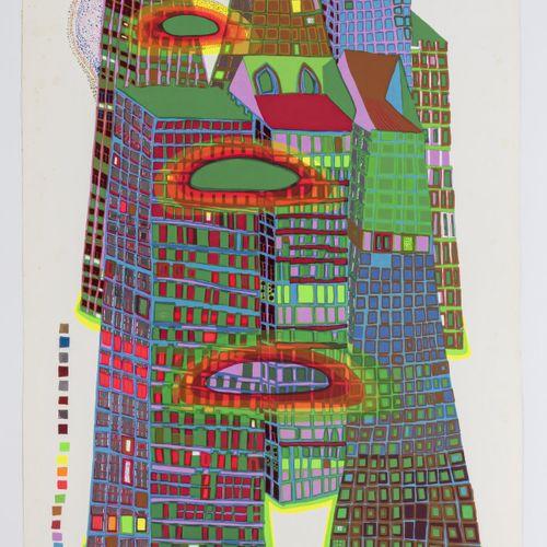 Friedensreich Hundertwasser (1928 Vienne 2000 Queensland), 'Good Morning City Bl…