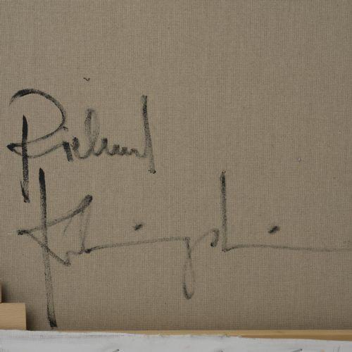 Richard Klingshirn (1941 Weilheim), 'Dark Room', 2014, huile sur toile. 160,0 x …