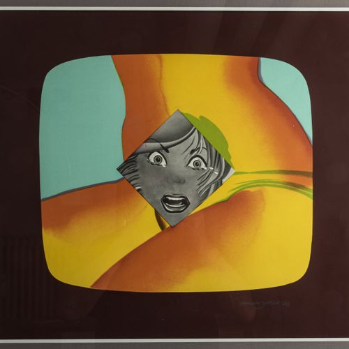 Allen Jones (1937 Southampton), Untitled (from the Mark Rothko Memorial Portfoli…
