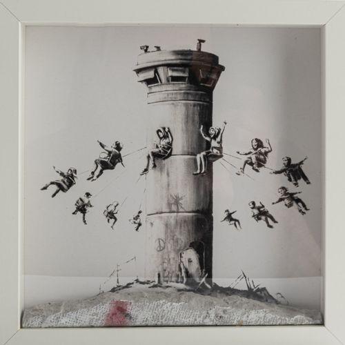 "Banksy (vit à Bristol), "" The Walled Off Hotel Box Set "", 2017, Impression numér…"