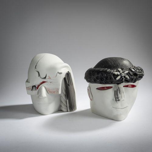 Joachim Schmettau (1937 Bad Doberan), 'Brautpaar', 1985, porcelaine biscuit, pei…