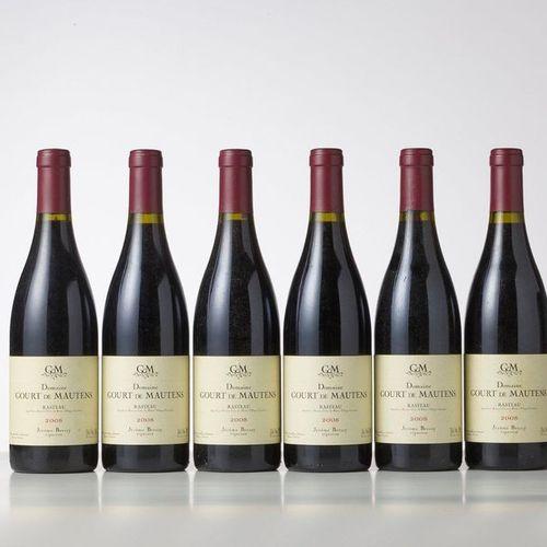 6 Bottles CÔTES DU RHÔNE VILLAGES RASTEAU Red  Year: 2008  Appellation : Domaine…