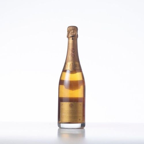 """1 Bottle CHAMPAGNE BRUT """"CRYSTAL"""" (CRYSTAL)  Year: 1996  Appellation: Louis Roed…"""