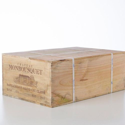 12 Bottles CHÂTEAU MONBOUSQUET  Year: 2012  Appellation: GCC Saint Emilion  Pack…