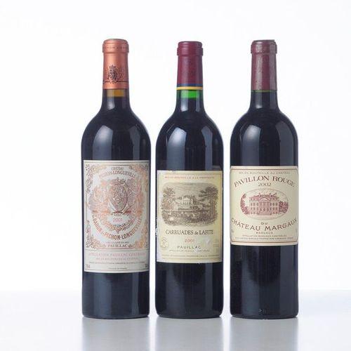 1 Bottle CHÂTEAU PICHON LONGUEVILLE BARON  Year: 2001  Appellation : GCC2 Pauill…