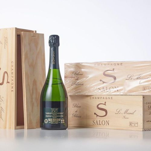 "3 Bottles CHAMPAGNE BRUT BLANC DE BLANCS ""S"" Edition 2020  Year: 1997  Appellati…"