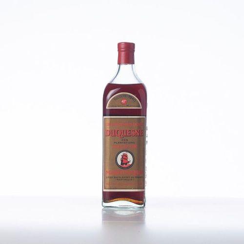 1 Bottle GRAND RHUM DORE DES PLANTATIONS DU VAL D'OR DE LA MARTINIQUE  Year: 194…