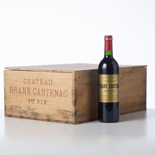 12 Bottles CHÂTEAU BRANE CANTENAC  Year: 1996  Name: GCC2 Margaux  Packaging : (…