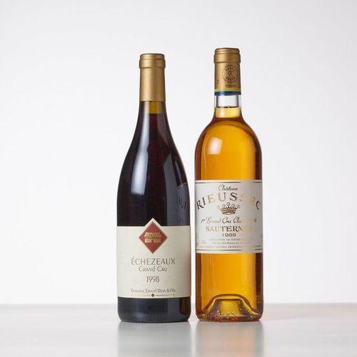 1 Bottle ECHEZEAUX (Grand Cru)  Year: 1998  Appellation : Domaine Rion        1 …