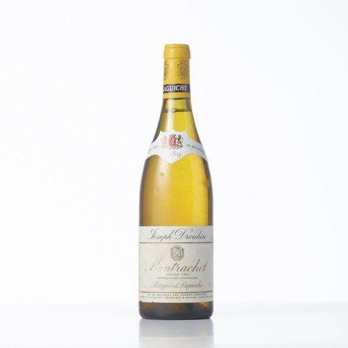 1 Bottle MONTRACHET MARQUIS DE LAGUICHE (Grand Cru)  Year: 1989  Name: Joseph Dr…
