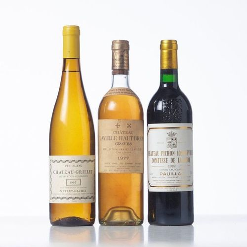 1 Bottle CHÂTEAU GRILLET  Year: 1993  Appellation : Neyret Gachet  Remarks : (la…