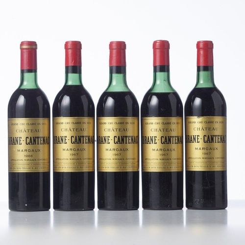 1 Bottle CHÂTEAU BRANE CANTENAC  Year: 1966  Name: GCC2 Margaux  Remarks : (E.H.…