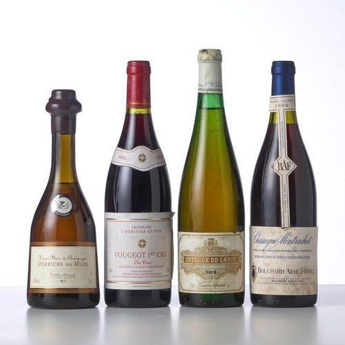 1 Bottle of 50 cl VIEUX MARC DE CHAMPAGNE DERRIERE LES MURS  Year: NM  Name: Mou…